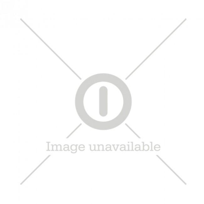CGS skylt pulver 10x20 cm röd/vit, vinyl